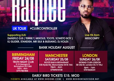 Prince Kaybee Manchester 2018